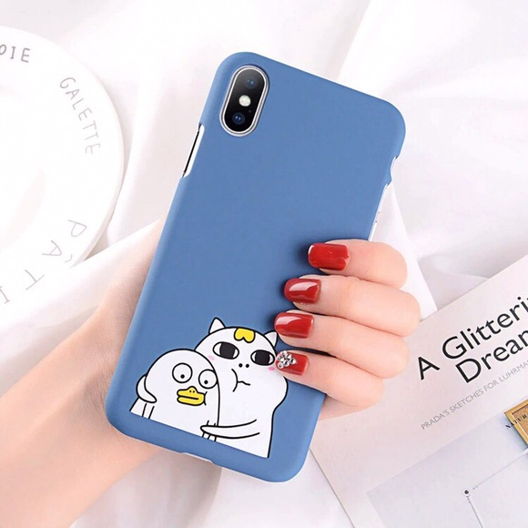 Other - Kawaii Cat Duck iPhone 7/8 Case